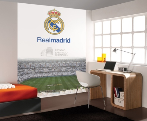 Mural Real Madrid