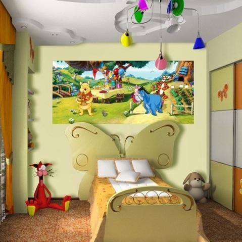 Mural de Pared Winnie The Pooh