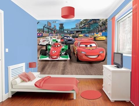 Murales Infantiles de Cars