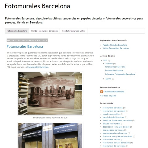 Fotomurales Barcelona